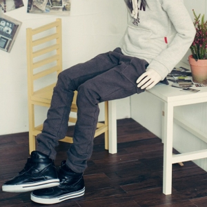 SD17 Band Baggy Pants - Gray