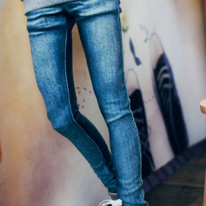 SD17 Real Skinny Washing Jeans - Blue