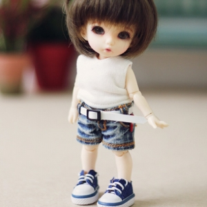 Pukifee Washing Denim Short Jean