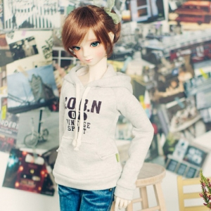 SD13 Girl Vintage Spirit Hooded T - Oatmeal