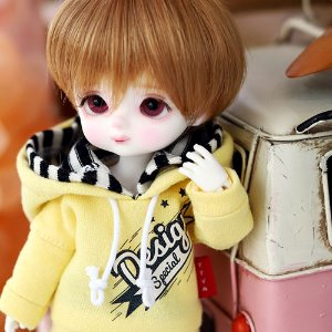 Design Special Hooded T - Yellow