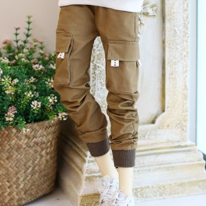 SD17 Band Jogger Pants - Brown