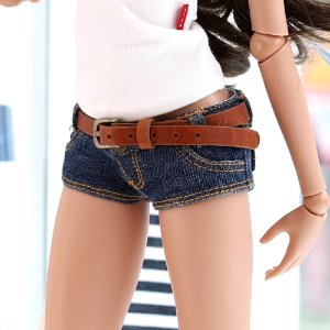 SD13 GIRL & Smart Doll Belt Short Pants - Blue