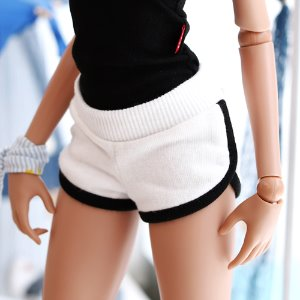 SD13 GIRL & Smart Doll Training Short Pants - White