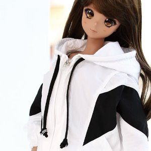 SD13 GIRL & Smart Doll Windscreen Jumper - W.Black