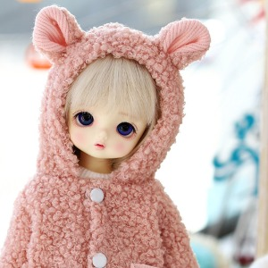 USD Mongmong Fur Jumper- Pink