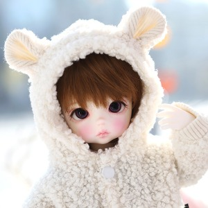 USD Mongmong Fur Jumper- Ivory